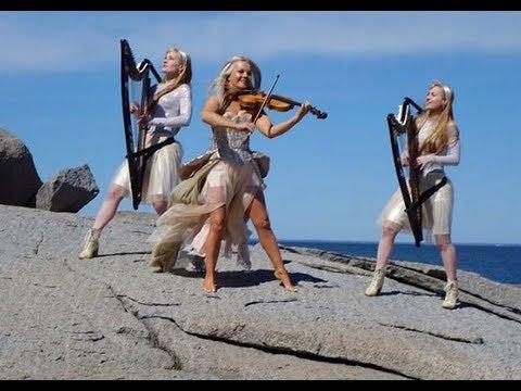 Kid on The Mountain Celtic Heart -feat. Máiréad Nesbitt Celtic Violinist & Harp Twins