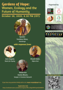 Gardens of Hope: Women, Ecology and the Future of Humanity