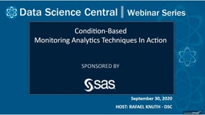 DSC Webinar Series: Condition-Based Monitoring Analytics Techniques In Action