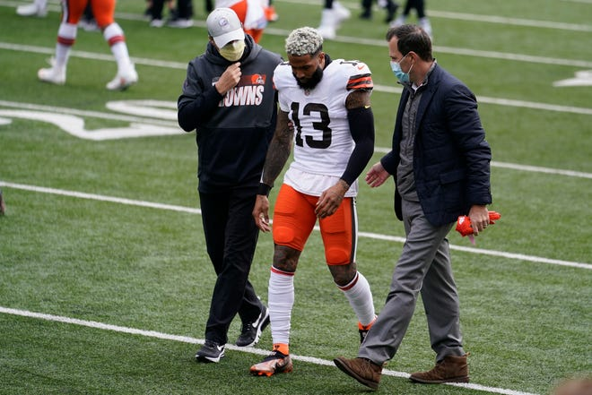 Cleveland Browns WR Odell Beckham Jr. Out for the Season with Torn ACL in Left Knee