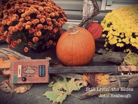 Making Haunting and Creepy Sounds with a Cigar Box Guitar for Halloween