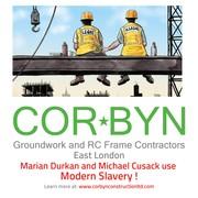 Corbyn Construction LTD Slavery is back to London