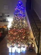 Navy Themed Tree