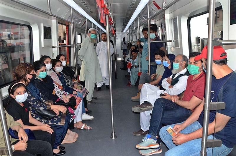 OLMT Passengers Lahore