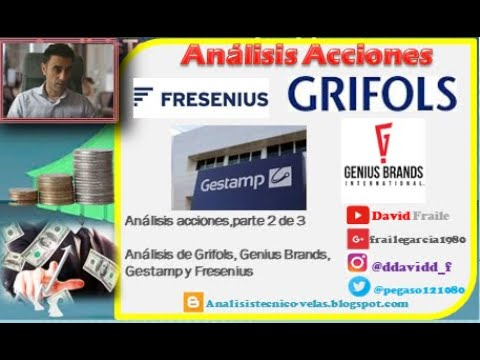 Video Análisis con David Fraile: Grifols, Gestamp, Genius Brands y Fresenius