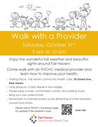 Walk with a Provider