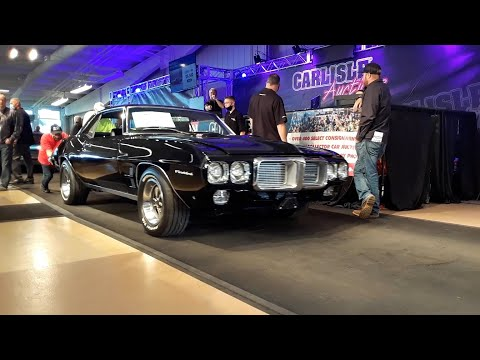 2020 Fall Carlisle Auction Video 2 Lots Of Muscle 69 Firebird,68 Buick GS,51 Chevy Panel,70 Dodge Dart