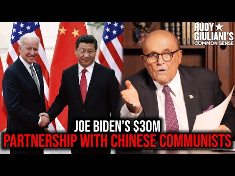 Joe Biden PARTNERED With Chinese COMMUNISTS For $30M | Rudy Giuliani | Ep. 81