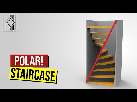 Parametric Stair (Rhino Grasshopper Tutorial)