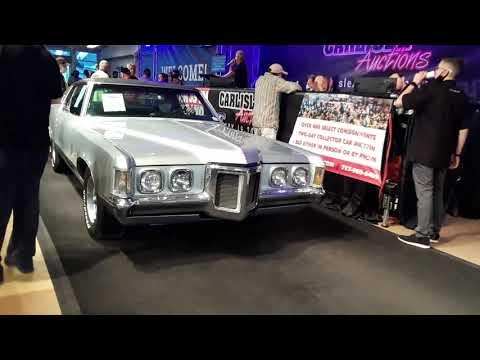 2020 Carlisle Fall Auction Video 4 64 Falcon, 66 Chevy C10, 69 Grand Prix
