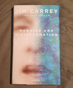 Jim Carrey Memoirs and Misinformation signed copy
