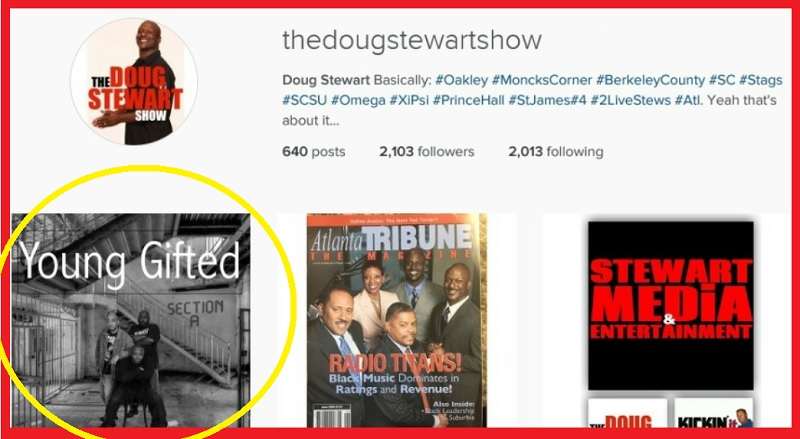 The Doug Stewart Show.. (Podcast) Young Gifted Entertainment.. https://www.facebook.com/136292470368921/posts/640311239967039/