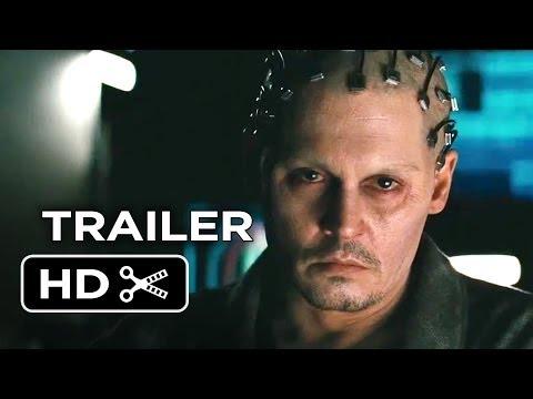 Transcendence Official Trailer #1 (2014) - Johnny Depp Sci-Fi Movie HD