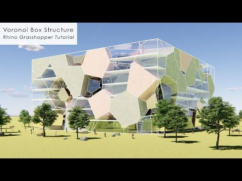 Voronoi Box Structure Rhino Grasshopper Tutorial