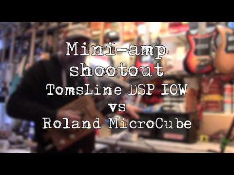 Mini-amp shootout - TomsLine Engineering vs Roland MicroCube