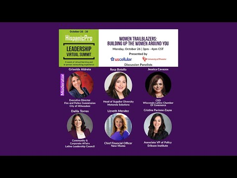 Women Trailblazers: Building up the Women Around You Webinar - Highlights