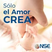 """""""SOLO EL AMOR CREA"""" en alianza con EWTN y NSE Radio (Argentina).  Todos los Martes a las 10am Hora de la Radio."""