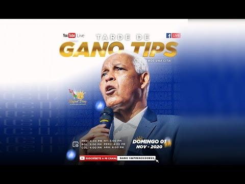 GANO TIPS DE GRATITUD / Rafael Diaz 1er CA de Latinoamérica