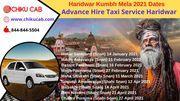 Haridwar Kumbh Mela 2021 Dates - Chikucab Taxi Service Haridwar