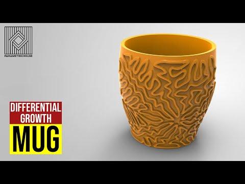 Differential Growth Mug