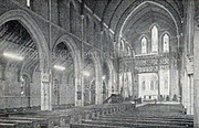 St Paul's Harringay interior 1947 - the 'First All Electric Church in the Country'