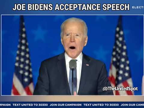 Joe Biden's Acceptance Speech