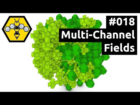 Wasp for Grasshopper #101 - Tutorial #018: Multi-Channel Fields