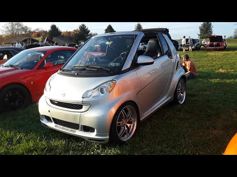 Brabus Smart Car A Surprising Sleeper With A Big Boost In Its Boot