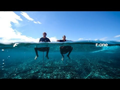 Paul Serin and Patrice Chanzy - Wing Foil and Surf Foil in Tahiti