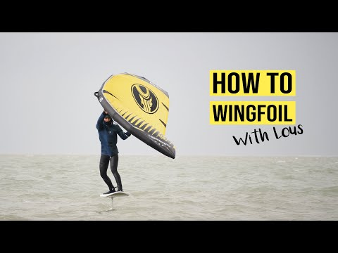 HOW TO WINGFOIL - with Lous