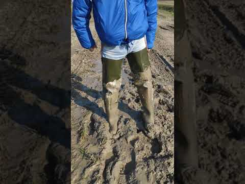 Rontani waders back in the mud