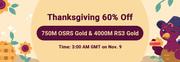 RSorder Thanksgiving 60% Off Sale 2020