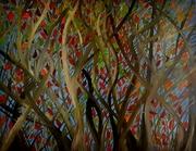 La Danse des Feuilles 162x130