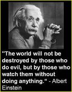 The world will not be