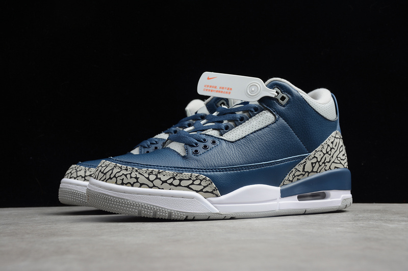 "First Look At The Air Jordan 3 Retro ""Georgetown"". Cop Or Not?"