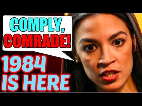 Alexandria Ocasio-Cortez Goes FULL COMMIE as Leftists BLACKLIST Trump Supporters!