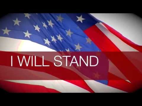 Original Song - I Will Stand - Allegiance Featuring Jake Sammons Official Lyric Video