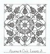 Acorns & Oak Leaves 3