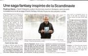 Un article dans ouest France le jeudi  29 octobre 2020