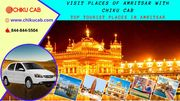 Best Taxi services in Amritsar for Outstation Trips