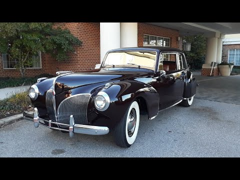 2020 AACA Special Fall Nationals Video 2 1941 Lincoln Continental Coupe