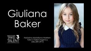 Giuliana Baker Reel 2020
