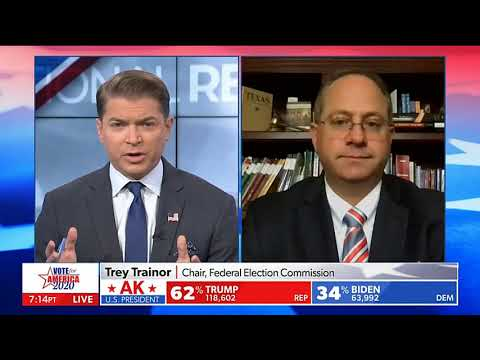 Newsmax TV: Voter Fraud Is Taking Place, Chair of the Federal Election Commission Trey Trainor
