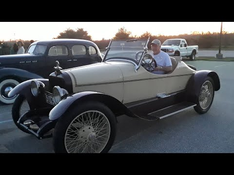 Templar Roadster At the 2020 AACA Special Fall Nationals Video 3