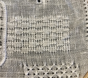 Double back stitch or shadow stitch