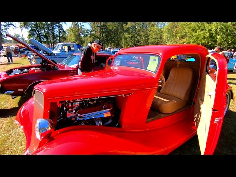Ardmore Car Show (2020) Ep-2 - More Rat Rods, Corvettes, and  Slammed Trucks - Oh, My!