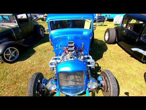Ardmore Car Show (2020) Ep-1 - Rat Rods, Corvettes and more - Oh My!