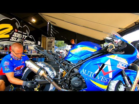 Superbikes at Barber Motorsports (2020) Ep-1 - Life in the pits!