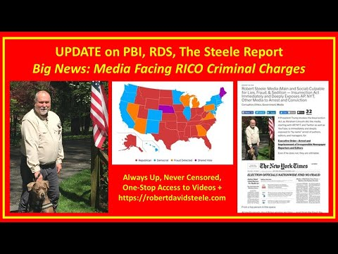 Election 2020 Update Media Indictable for Sedition Douglas Macgregor Cynthia McKinney Website Update