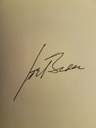 Joe Biden signed book